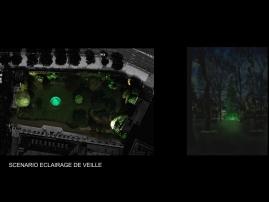 03-ECLAIRAGE-VEGETATION-ASSEMBLEE-NATIONALE-VEILLE